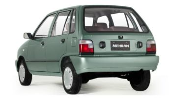 Suzuki Mehran VXR CNG price and specification , technical specification