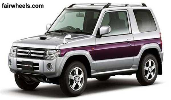 Mitsubishi pajero mini 2012 front