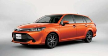 Toyota Corolla Fielder 2017 price and specification