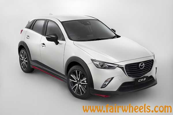mazda cx 3 sport 2017 price specifications fairwheels. Black Bedroom Furniture Sets. Home Design Ideas