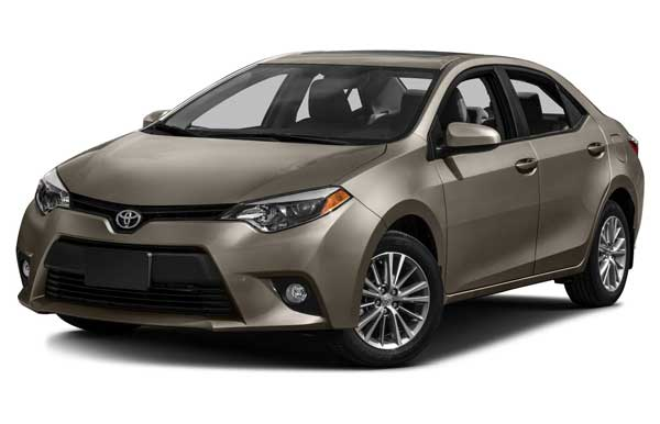 Toyota Corolla 2016 price and specification