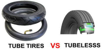 Tube tires VS tubelesss tires