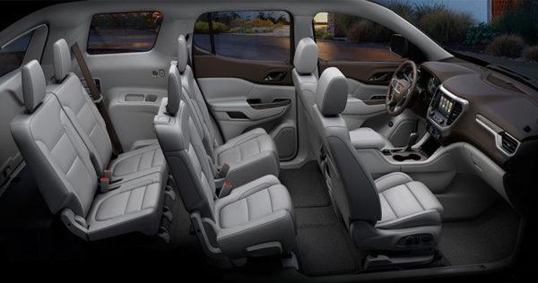 GMC-acadia-SLT-2017-Complete-Interior