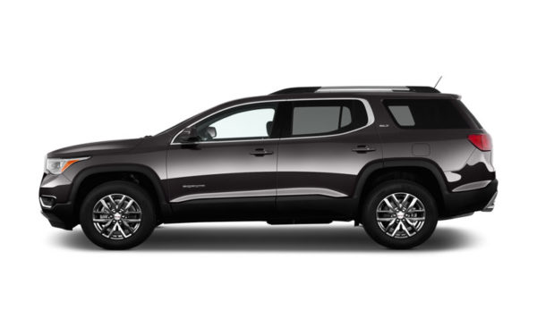 GMC-acadia-SLT-2017-Side-pose