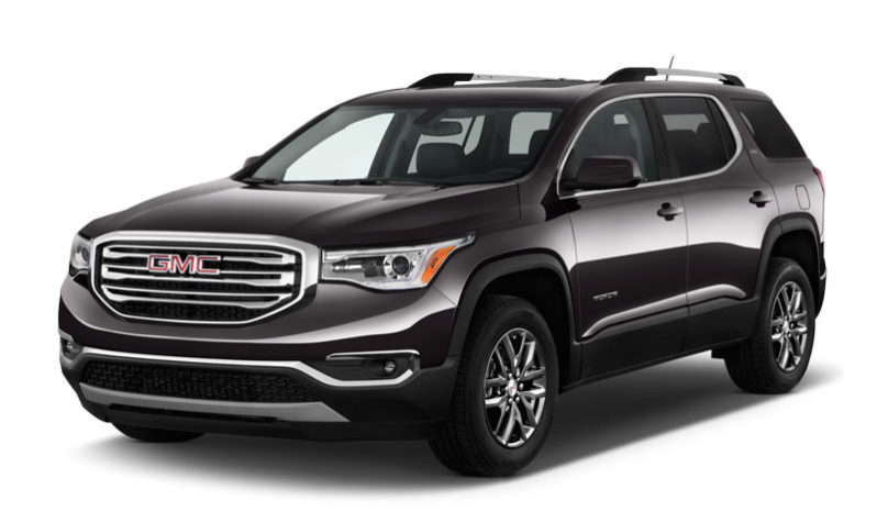 GMC-acadia-SLT-2017-Specifications-and-Features
