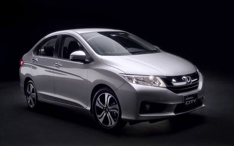 New in Honda city 2017