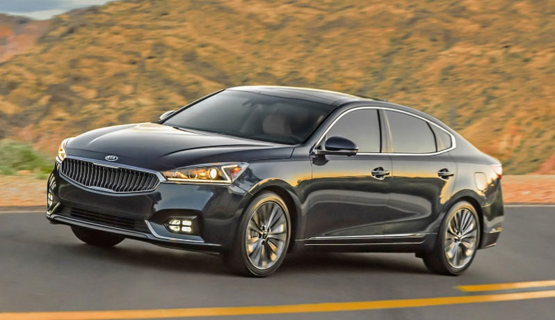 KIA Cadenza Technology 2017 full