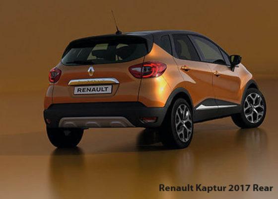 Renault-Kaptur-2017-Rear