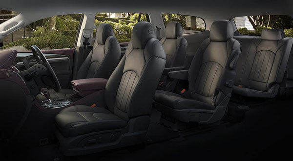 Buick Enclave 2017 full interior