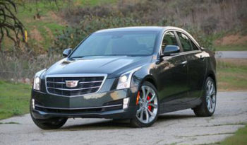 Cadillac ATs 2017 featured front