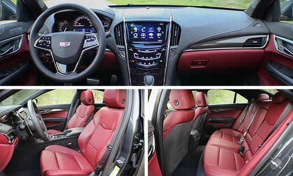 Cadillac ATS 2017 interior