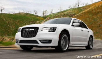 Chrysler 300 S RWD 2017 full