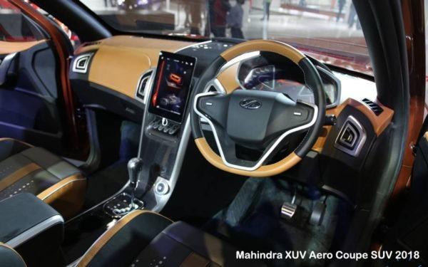 Mahinda-XUV-Aero-Coupe-SUV-2018-Steering-and-Transmission