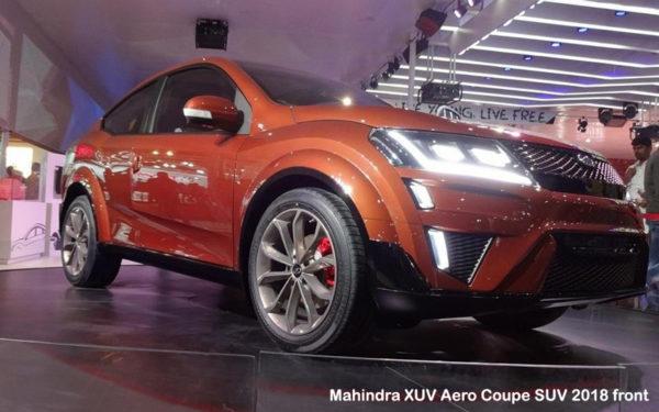 Mahinda-XUV-Aero-Coupe-SUV-2018-front
