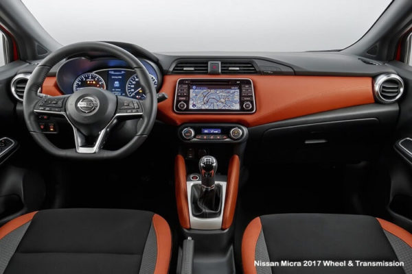 Nissan-Micra-2017-Steering-wheel-and-Transmission