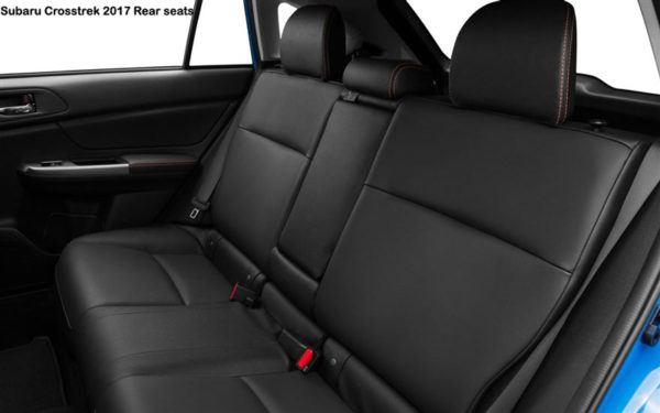 subaru-crosstrek-2017-Rear-Seats