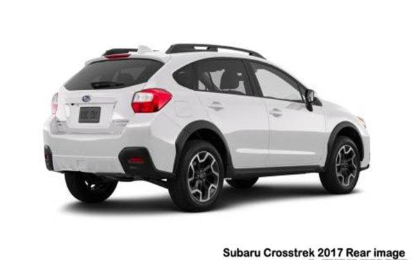 subaru-crosstrek-2017-Rear-image