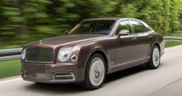 Bentley Mulsanne Sedan Speed 2016