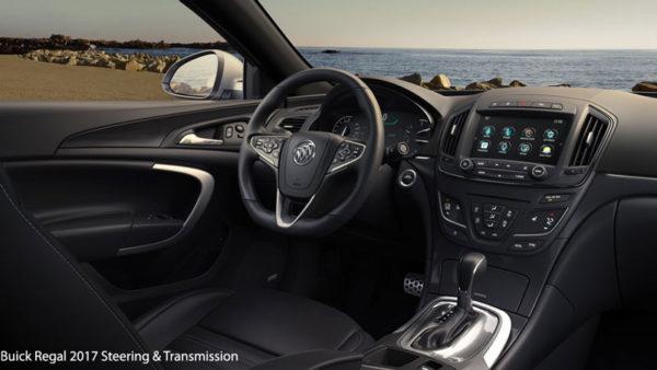 Buick-Regal-2017-steering-&-transmission
