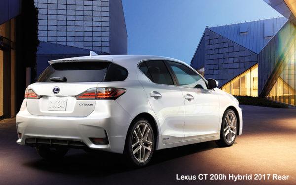 Lexus-CT-200h-Hybrid-2017-Rear