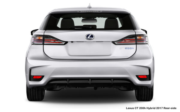 Lexus-CT-200h-Hybrid-2017-Rear-side