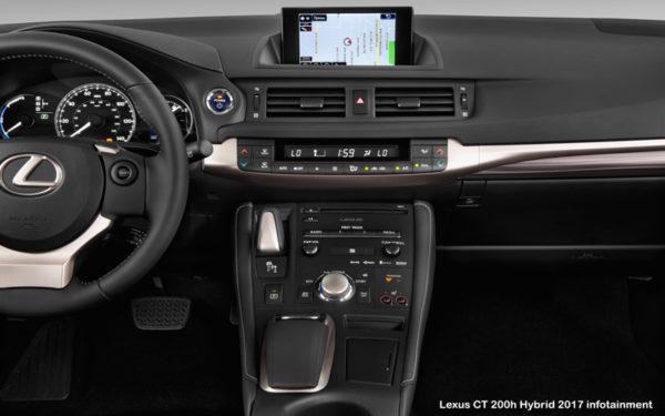 Lexus-CT-200h-Hybrid-2017-infotainment