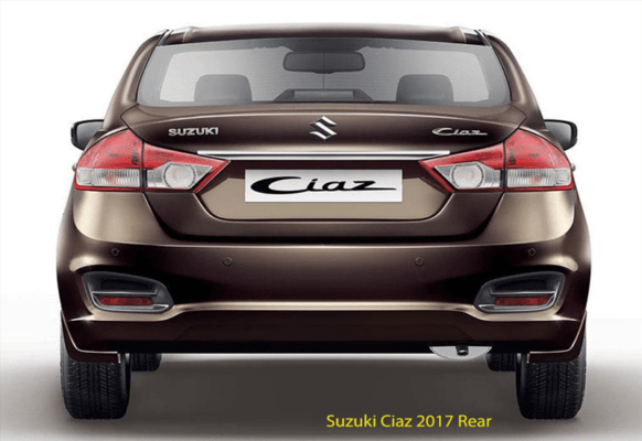 Suzuki-Ciaz-2017-Rear