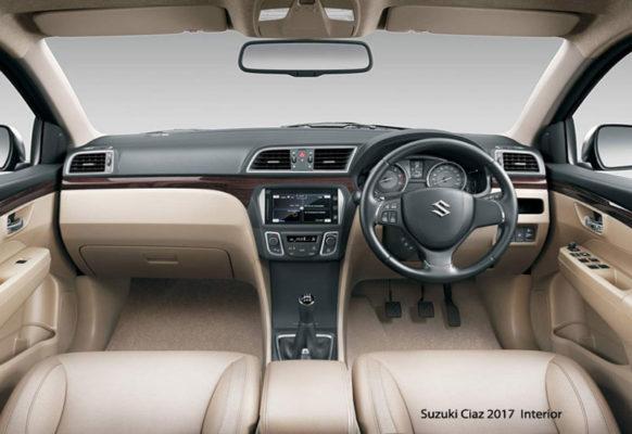 Suzuki-Ciaz-2017-interior