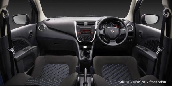 Suzuki-Cultus-2017-front-cabin