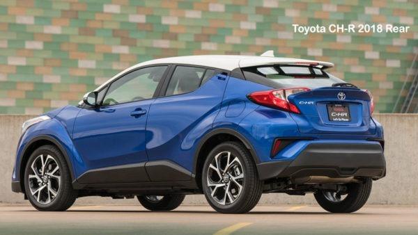 Toyota-CH-R-2018-Rear