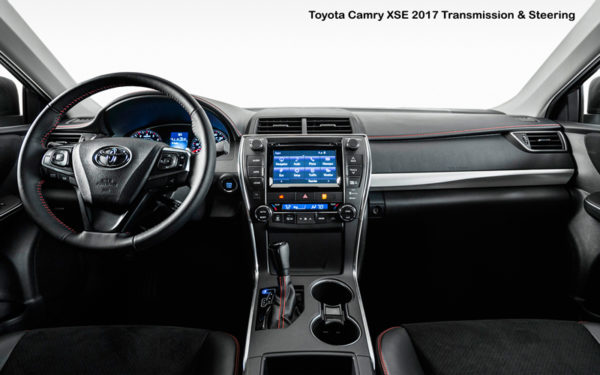 Toyota-Camry-XSE-2017-Transmission-&-Steering