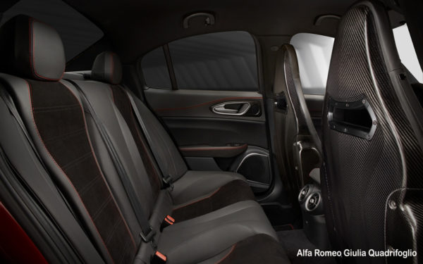 Alfa-Romeo-Giulia-Quadrifoglio-2017-Rear-seats