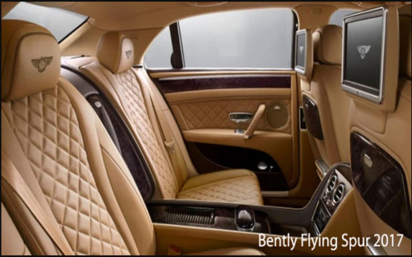 Bently-Flying-Spur-2017-Rear-Seats