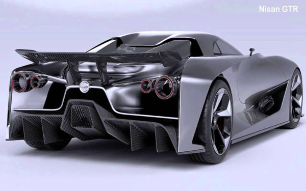 Nissan-GTR-2018-Rear