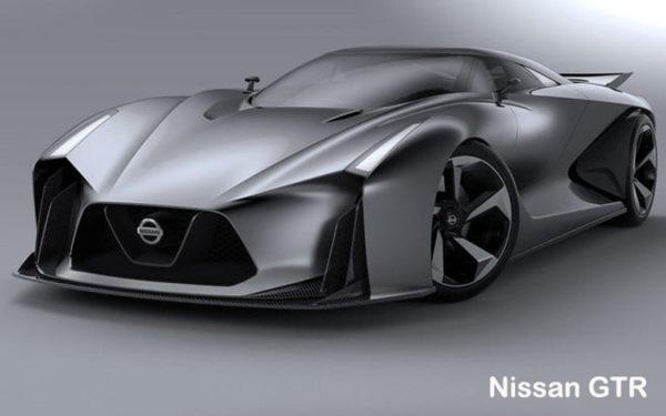 Nissan-GTR-2018-front