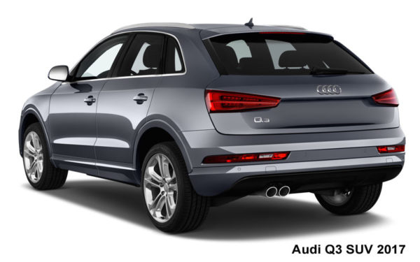Audi-Q3-SUV-2017-Rear