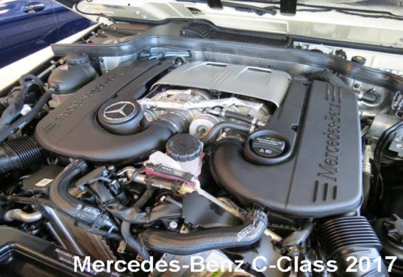 Mercedes-Benz-G-Class-G-550-2017--engine