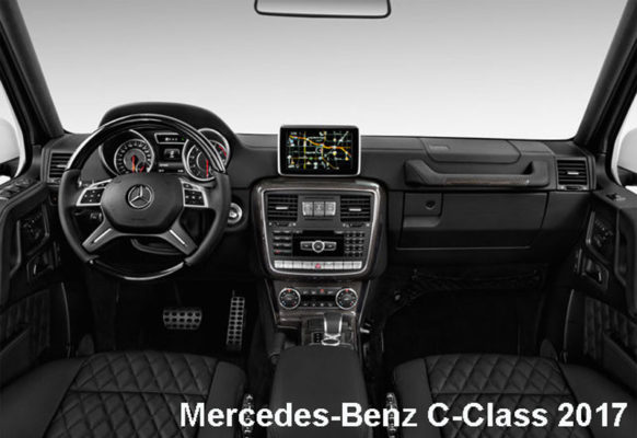 Mercedes-Benz-G-Class-G-550-2017-steering-and-transmission