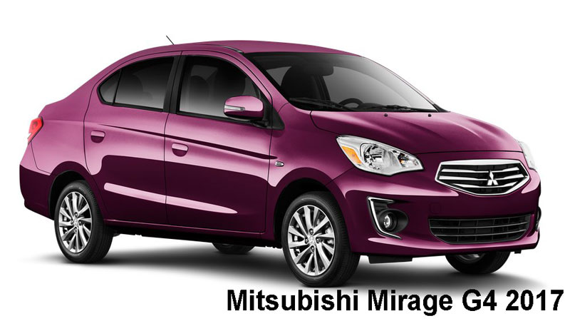 Mitsubishi Mirage G4 2017 Price Specifications Amp Overview