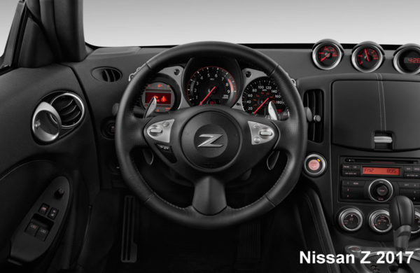 Nissan-370Z-2017-steering-and-transmission