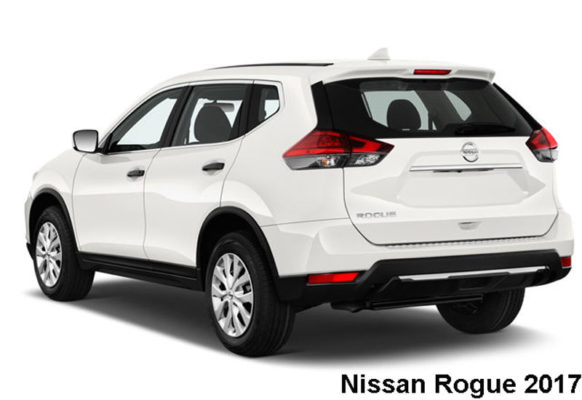 Nissan-Rogue-fwd-sv-2017-back-view