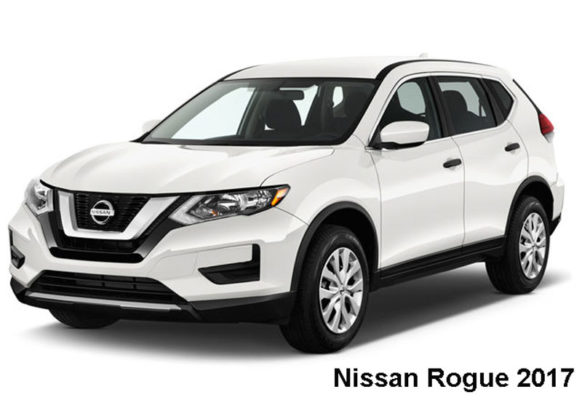 Nissan-Rogue-fwd-sv-2017-front-view