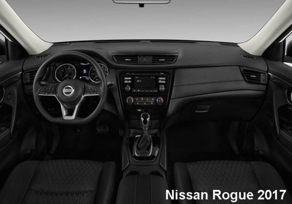 Nissan-Rogue-fwd-sv-2017-steering-and-transmission
