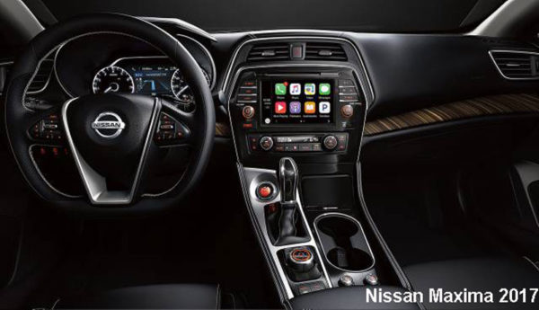 Nissan-Maxima-2017-steering-and-transmission