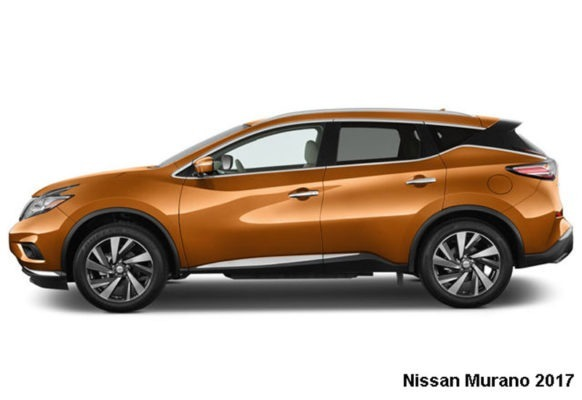 Nissan-Murano-2017-side-view