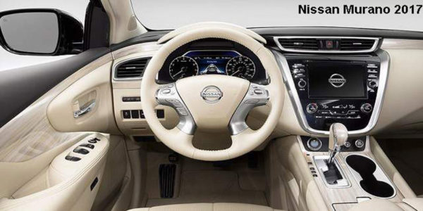 Nissan-Murano-2017-steering-and-transmission