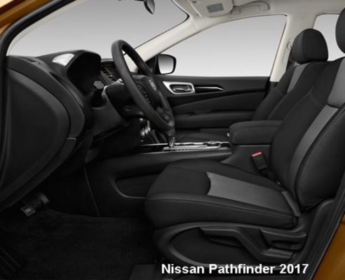Nissan-Pathfinder-2017-front-seats