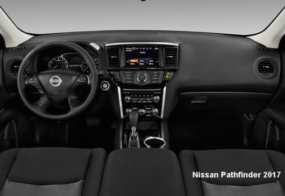 Nissan-Pathfinder-2017-steering-and-transmission