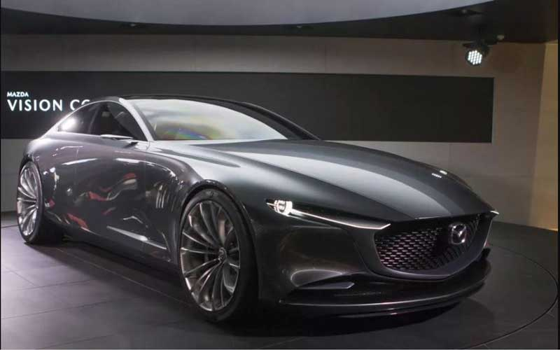 mazda vision coupe concept revelation at tokyo motors show 2017 fairwheels. Black Bedroom Furniture Sets. Home Design Ideas