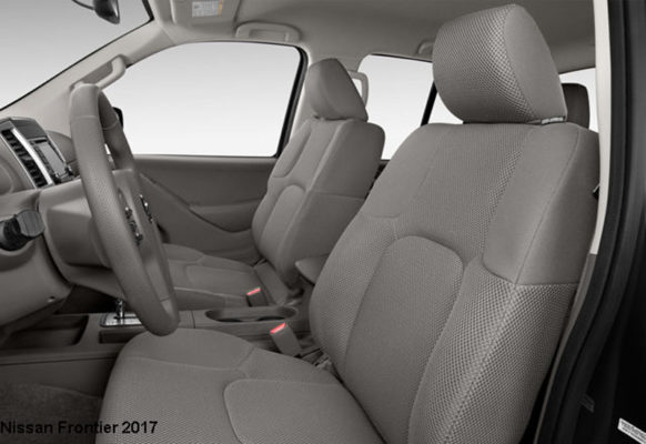 Nissan-Frontier-2017-front-seats